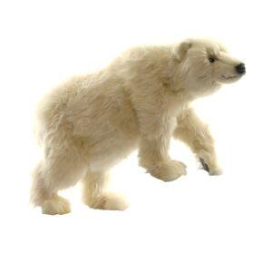 Hansa 19 Inch Plush Polar Cub on All Fours (1)