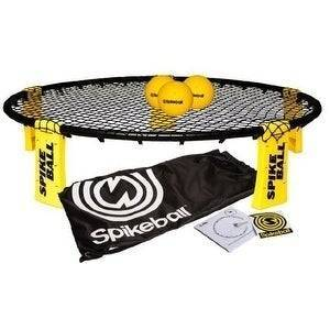 Spikeball Combo Meal (3 Balls, Drawstring Bag And Rules) - Black