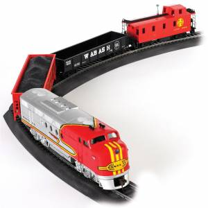 Bachmann HO Scale Santa Fe Flyer Train Set (1)
