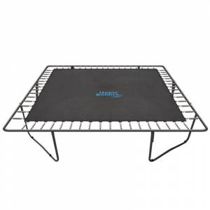 Upper Bounce 13x13 Square Trampoline Jumping Mat with 84 V-Rings (Mat fits for 13' Square Trampoline Frames)