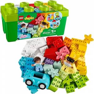 Lego DUPLO Classic Brick Box 10913 First LEGO Set with Storage Box, Great Educational Toy for Toddlers 18 Months and up (2-4 Years)