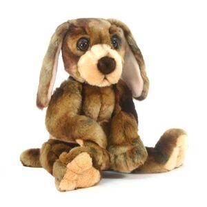 Hansa 12 Inch Plush Wow Wow Hound Dog (1)