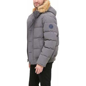 Tommy Hilfiger Men's Arctic Snorkel Bomber Jacket - Charcoal - Size: Small