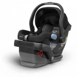 UPPAbaby MESA Baby Infant Car Seat with UPF Canopy - Jake (Black) - Great Gift Idea