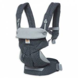 Ergobaby Carrier, 360 All Carry Positions Baby Carrier, Starry Sky Grey - Great Gift Idea