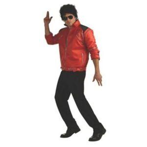 Rubie's Rubies Men's Beat It Deluxe Michael Jackson Jacket - Red - Size: Large Rubie's