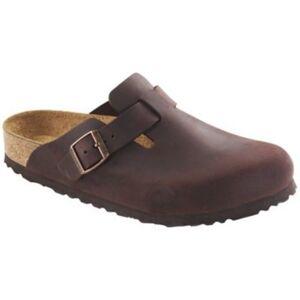 Birkenstock Women's Boston Soft-Footbed Clog - Brown - Size: 6