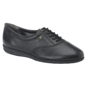 Easy Spirit Women's Motion Leather Oxfords - Black - Size: 7.5