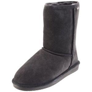 Bearpaw Women's 8'' Emma Short Ankle Boots - Charcoal - Size:8