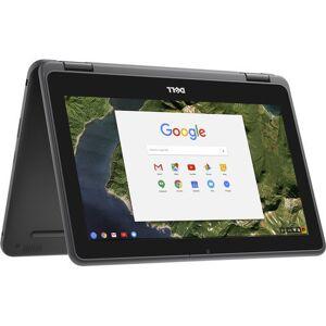 """Dell 11.6in. Dell Chromebook 3180 11.6"""" Intel Celeron 4GB 16GB Chrome OS - Black"""