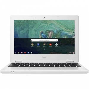 """Acer 11.6 in Acer 11.6"""" Laptop 1.60GHz 4GB 32GB Chrome OS - White (CB3-132-C0EH)"""