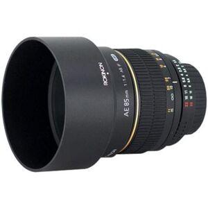 Rokinon 85mm F/1.4 Lens For Nikon AE - Black