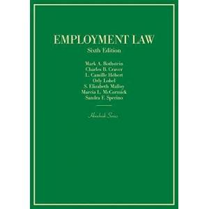 West Academic Publishing West Academic Employment Law - Hardcover West Academic Publishing - Great Gift Idea