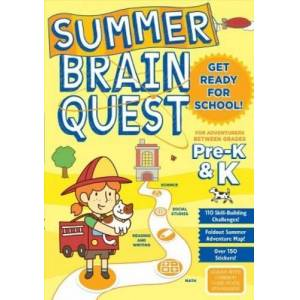 Readerlink Summer Brain Quest Pre K & K Readerlink - Great Gift Idea