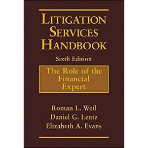Wiley Litigation Services Role of Financial Expert Handbook - Brown - Great Gift Idea