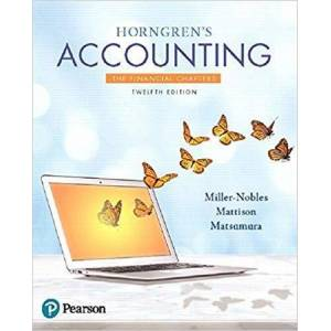 Tracie Miller-Nobles Tracie Horngren's MyLab Accounting with Pearson eText - Paperback Tracie Miller-Nobles - Great Gift Idea