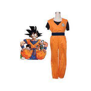 milanoo.com Dragon Ball Son Goku Halloween Cosplay Costume Kakarotto Cosplay  Halloween