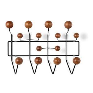 "Herman Miller Authentic Herman Miller Eames Hang-It-All - Walnut - 14.625"" h x 19.75"" w x 6.5"" d - Wood/Steel"