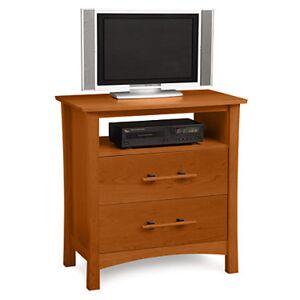 Copeland Furniture Monterey 2 Drawer Dresser and TV Organizer - Cherry - Wood - CP-2-MNT-25-23