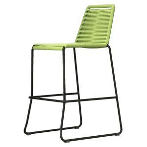 Modloft Barclay Barstool by Modloft / Green / Steel/Polyester