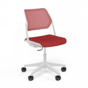 Steelcase Authentic Steelcase QiVi 5-Star Base Office Chair - Black - 428510-PA6249NGC7QN065S19