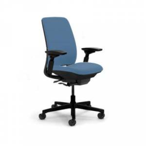 Steelcase Authentic Steelcase Amia Office Chair - 4821410-6205BKAC75S24S