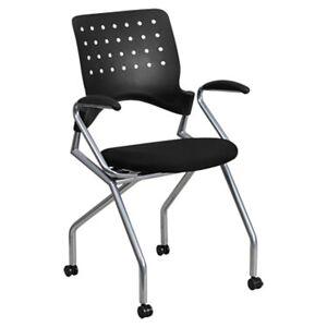 "Flash Furniture Galaxy Mobile Nesting Chair with Arms - 36"" h x 21.75"" w x 20"" d - Flash Furniture - FFWL-A224V-A-A-GG"