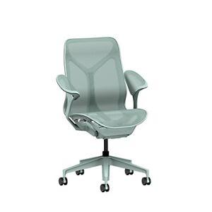 "Herman Miller Authentic Herman Miller Cosm Chair, Dipped in Color / 29.30"" h x 29.30"" w x 26.70"" d / HMFLC352SFJDB3DB3SC8"