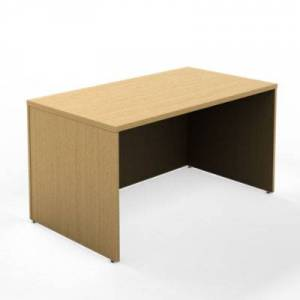 """Steelcase Authentic Steelcase Currency 60"""" Rectangle Desk - Cherry - TS5TLDS6024-MARBLED CHERRY"""