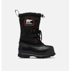 Sorel Youth Glacier  XT Boot-  - Black - Size: 1 Textile