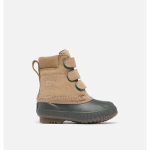Sorel Childrens Cheyanne  II Strap Duck Boot-  - Brown - Size: 13