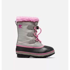 Sorel Youth Yoot Pac  Nylon Boot-  - GreyPink - Size: 6