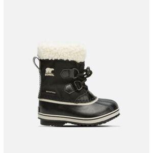 Sorel Childrens Yoot Pac  Nylon Boot-  - Black - Size: 10
