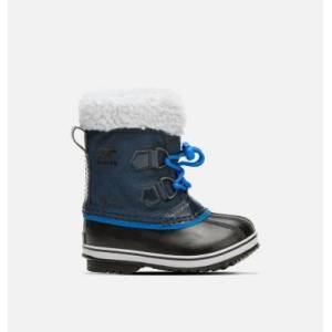 Sorel Childrens Yoot Pac  Nylon Boot-  - Blue - Size: 10