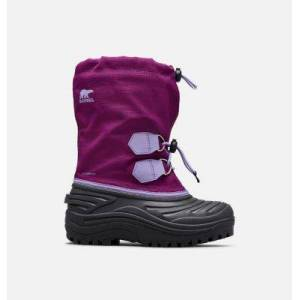 Sorel Youth Super Trooper  Boot-  - Purple - Size: 6