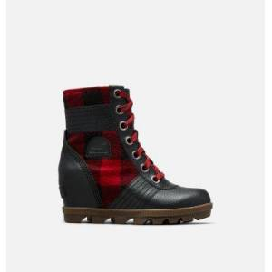 Sorel Youth Lexie  Wedge Boot-  - Black - Size: 3