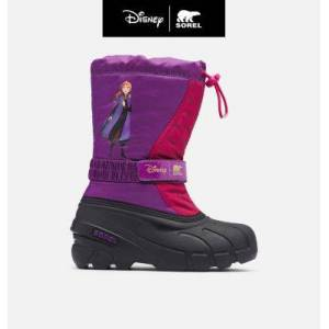 Sorel Disney X Sorel Youth Flurry  Frozen 2 Boot  Anna Edition-  - Purple - Size: 7