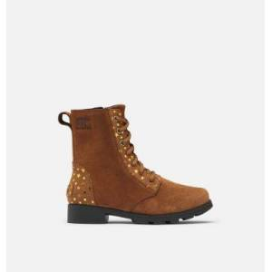 Sorel Youth Emelie  Short Lace Boot-  - Brown - Size: 5