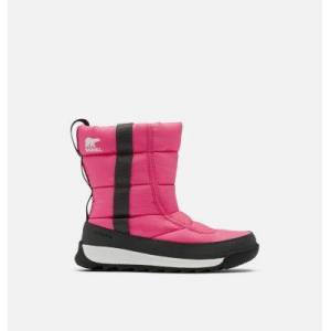 Sorel Youth Whitney  II Puffy Mid Boot-  - Pink - Size: 1