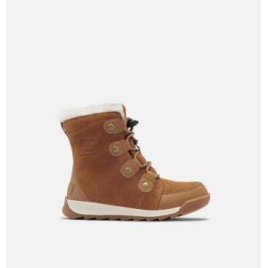 Sorel Childrens Whitney  II Suede Boot-  - Tan - Size: 10