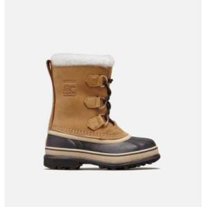 Sorel Youth Caribou  Boot-  - Brown - Size: 5 Leather