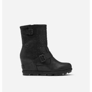 Sorel Women's Joan Of Arctic  Wedge II Stud Boot-  - Black - Size: 7