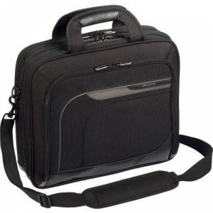 """Targus TBT045US Carrying Case for 15.4"""" Notebook - Black, Gray - Polyester - 13.5"""" Height x 15.5"""" Width x 5"""" Depth"""
