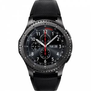 Samsung Gear S3 frontier Smart Watch - Wrist - Accelerometer, Barometer, Gyro Sensor, Heart Rate Monitor, Ambient Light Sensor - Alarm, Text Messaging, Email - Distance Traveled, Heart Rate, Sleep Quality, Speed, Steps TakenExynos 7270 1 GHz Dual-core (2