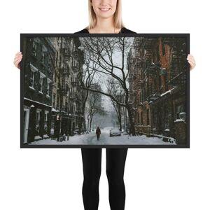 Print Epic Street 1209401 Matte Paper Framed Poster