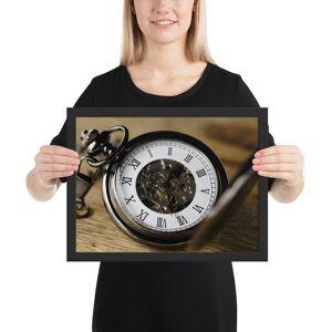 Print Epic Clock 3179167 Matte Paper Framed Poster