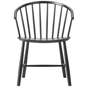 Fredericia J64 Johansson chair, black ash