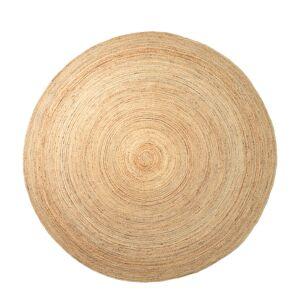 Ferm Living Eternal round jute rug, large, natural