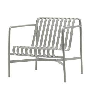 Hay Palissade lounge chair, low, light grey