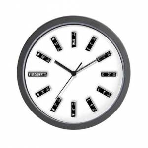 CafePress Vancouver Street Signs Wall Clock